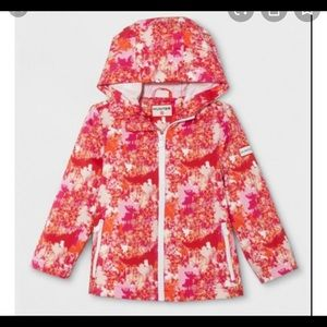 BNWT Hunter packable raincoat jacket size XS girls